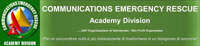 Communications Emergency Rescue Academy - OdV - Non Profit Organization